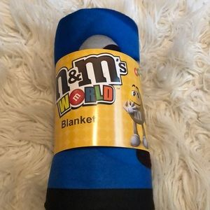 M&M World Fleece Blanket